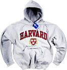 Harvard Hoodie Sweat Shirt Gray