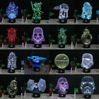 Star Wars Death Star 3D Acrylic LED Night Light Touch Desk Table Lamp 7 Color $17.58 USD