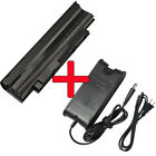 Battery/Charger For Dell Inspiron N4010 N7010 N5010 N3010 M5010 15R 14R 13R 17R