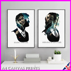 Harry Potter Print Canvas Poster Movie Wall Art Hermione Snape Ron Dumbledore A4