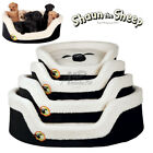 Shaun the Sheep Dog | Puppy Bed Curly soft plush Removable cover non-slip 4 Size