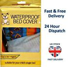 BED WETTING WATERPROOF SHEET Child Baby Pets Single Mattress Cot Cover Protector