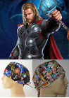 Marvel Comics THOR Collection Unisex Surgical Scrub Hat Chemo Cap