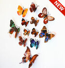 12pcs 3D Butterfly Wall Stickers Art Decals Home All Room Decorations Decor Kids