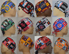 NBA Baskeball Team Sport TRADITIONAL TIE BACK Unisex Surgical Scrub Cap Hat