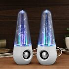 Bluetooth Wireless Speakers Dancing Water Speaker With Multicolored LED Light LK