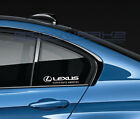 Lexus Experience Amazing Decal Sticker logo IS RX RC IS-F RC-F NX LC Pair