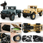 1/16 2.4G Radio Remote Control Rock Crawler Drive RC Car Toy Off-Road Buggy Gift