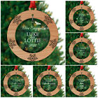 First CHRISTMAS as an ENGAGED COUPLE Decoration Christmas Engagement Fiance Gift