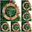 1st Christmas as Mummy and Daddy PERSONALISED Xmas Tree Decorations First Gifts