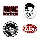 New Elvis Presley Embroidered Patch Sew Iron On American King of Rock n Roll DIY