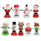 Christmas Car Home Decoration Solar Powered Dancing Swing Dolls Toys For Kids Ch