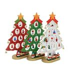 Christmas Decorations Wooden Medium Tree Monolithic With Small Ornaments Toys Fo