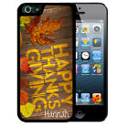 PERSONALIZED THANKSGIVING RUBBER CASE FOR iPHONE X 8 7 6S SE 5C 5S PLUS LEAVES