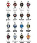 Pro Football Superbowl Variety Team Logo Ladies Italian Charm Wrist Watch Set 1 on eBay