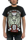 For the Fallen Dreams - Mens Owl T-Shirt in Black