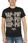 Duck Dynasty - Mens Hap-pay Camo T-Shirt in Black