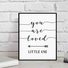 You Are Loved Little One Wall Decal Poster Home Decor Frameless Painting Glitzy