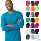 Jerzees Mens Dri-Power Active Long Sleeve Tee 50/50 Plain T-Shirt S-3XL - 29LSR