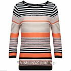 Ladies Ex-M&5 Aztec Print Round Neck 3/4 Sleeve T-Shirt Sale Now Only £6.99