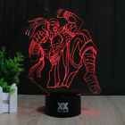 LOL the Blind Monk Lee Sin 3D Desk Table Lamp LED Night Light Remote Xmas Gifts