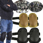 Adjustable Airsoft Tactical Combat Protective Knee Gear+ Elbow Skate Knee Pads