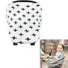 Infant Baby Car Seat Basket Stroller Stretchy Cover Shopping Cart Sun Shade Hood