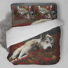 Wolf Duvet/Doona/Quilt Cover Set Double/Queen/King Size Animal Nature New Bed