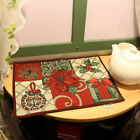 Retro Rural Floral Flower Xmas Tablecloth Placemat Dining Table Runners Decor