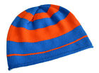 Invisible World Women's or Men's 100% Cashmere Beanie Striped Knit Cap