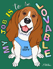 """Basset Hound House and Garden Flags """"The Dog Says"""" in 2 sizes #66021/1"""