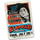 James Brown at the Apollo Theatre Reproduction Poster - 2 Sizes Available
