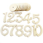 1-20 Wooden Table Numbers Set w/ Base Birthday Wedding Party Decor Gifts DIY