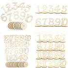 Внешний вид - 1-20 Wooden Table Numbers Set w/ Base Birthday Wedding Party Decor Gifts DIY