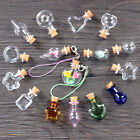 Внешний вид - 5PCS Lovely Clear Mini Small Wishing Drift Container Bottle Vial Corks Glass