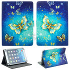 Folio Leather Cover Case For RCA Viking Pro 10 / Cambio W101 V2 10.1 inch Tablet