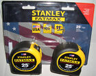 TWO STANLEY FATMAX 25 Ft. TAPE MEASURE VALUE PACK BRAND-NEW