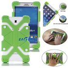 "US Green Universal Soft Safe Shockproof Silicone Cover Case For 8"" ~ 9"" Tablets"