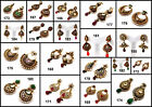 White Pearl Kundan Golden Polki Bollywood Dance Party Earring Jhumka Christmas