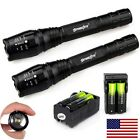 Tactical 12000 Lumen 5Modes XML T6 Zoomable 18650 LED Flashlight Torch B1