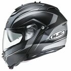 HJC IS Max 2 Elements Black Flip Front Motorcycle Crash Helmet New RRP £159.99!!