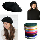 Kyпить 1pc Women 100% Warm Wool Winter Girl Beret French Artist Beanie Hat Ski Cap Gift на еВаy.соm