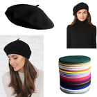 1pc Women 100% Warm Wool Winter Girl Beret French Artist Beanie Hat Ski Cap Gift