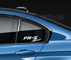 FR-S Sport Decal Sticker logo Toyota Racing Scion TRD JDM Pair on eBay
