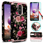 For LG Stylo 4/3 Plus Shockproof Hybrid Armor Hard Case Cover+Screen Protector