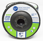 """10 Pack - 4.5"""" Economy Flap Disc Grinding Wheels Type 29 (Angled Face)"""