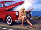 Greg Hildebrandt-Overheated, Photo Paper Print, Pinup Girl