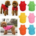 Pet Dog Cat Puppy Cotton Polo T-Shirt Suit Clothes Outfit Apparel Coat Tops XS-L