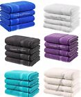 4 x Egyptian Cotton BathSheets Set