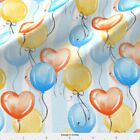 Balloons Ballon Party Holiday Fabric Printed by Spoonflower BTY